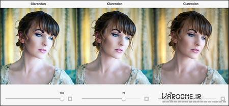 آموزش اینستاگرام,افزودن فیلتر به عکس های اینستاگرام