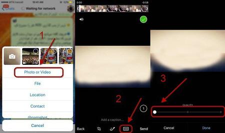 روش های کاهش حجم فیلم  کاهش حجم فیلم آنلاین ترفندهای تلگرام , کاهش حجم فیلم در تلگرام , کم کردن حجم فیلم در تلگرام , کاهش حجم فیلم ها در تلگرام